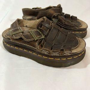 Dr. Martens Leather Sandals, Sz. 6, New